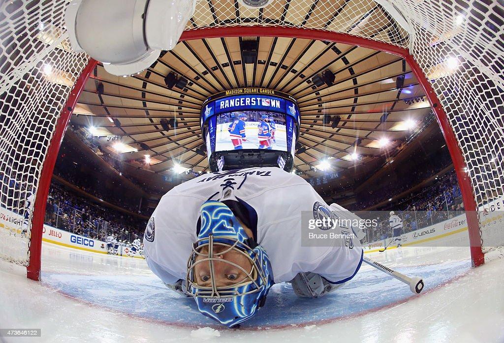 Tampa Bay Lightning v New York Rangers - Game One : News Photo