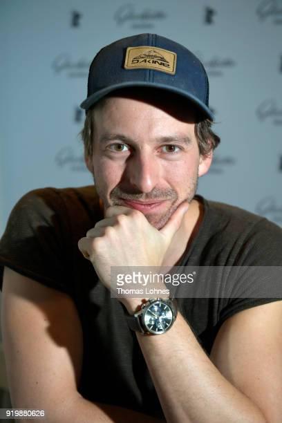 Ben Blaskovic attends the Glashuette Original Lounge at The 68th Berlinale International Film Festival at Grand Hyatt Hotel on February 18 2018 in...