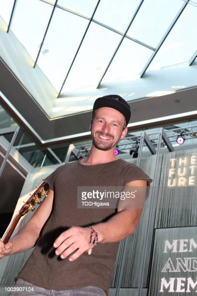 Ben Blaskovic during a photo session backstage on July 19 2018 in Munich Germany