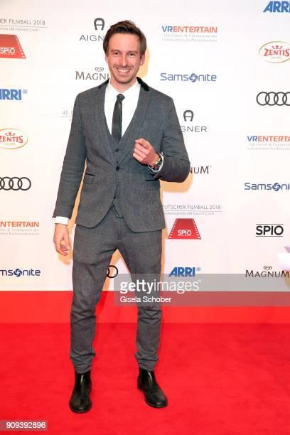 Ben Blaskovic during the German Film Ball 2018 at Hotel Bayerischer Hof on January 20 2018 in Munich Germany