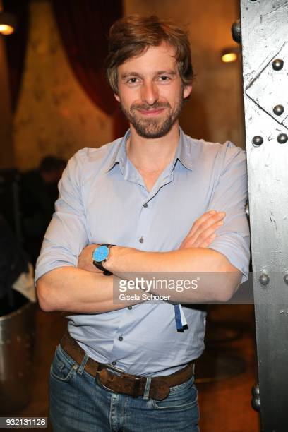 Ben Blaskovic during the NdF after work press cocktail at Parkcafe on March 14 2018 in Munich Germany