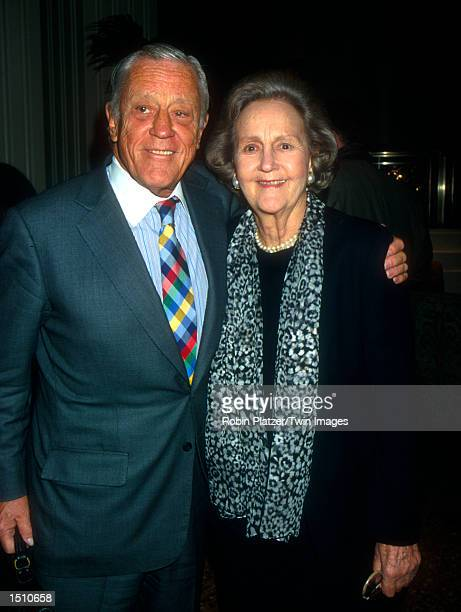 Ben Bradlee and Katharine Graham attend the 30th Annual Matrix Awards April 17 at the Waldorf Astoria in New York City