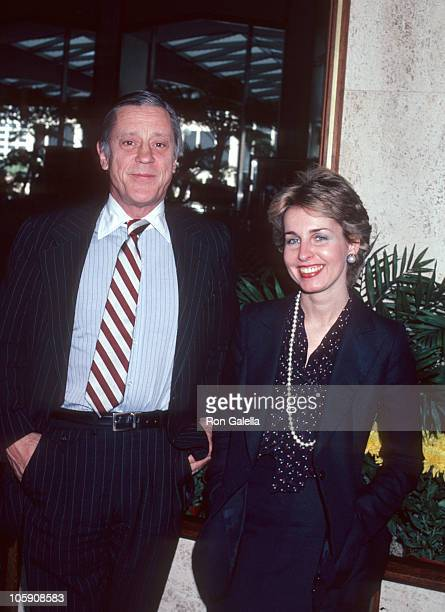 Ben Bradlee and Sally Quinn during Lawyer Wines of Beverly Hills Symposium '80 April 16 1980 at Century Plaza Hotel in Los Angeles California United...