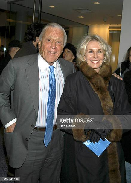 Ben Bradlee and wife Sally Quinn owners of the Grey Gardens house in East Hampton NY