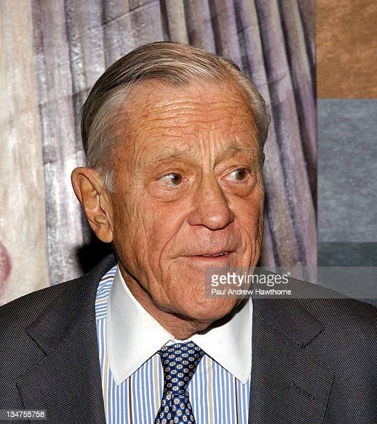 Ben Bradlee during 19th Annual Academy of the Arts Lifetime Achievement Awards Gala conducted by Guild Hall of East Hampton NY at The Rainbow Room in...