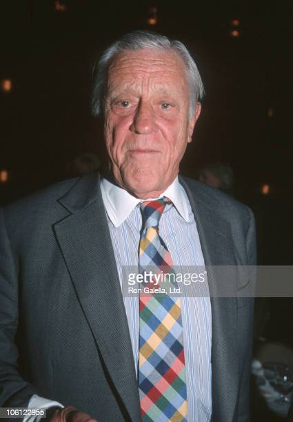 Ben Bradlee during 2000 Matrix Awards at Waldorf Astoria Hotel in New York City New York United States