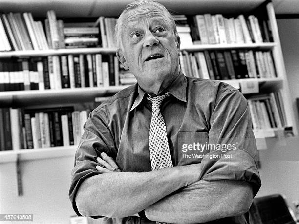 BRADLEE Ben Bradlee in his office on the eve of the release of his book of memoirs Bill O'Leary/TWP