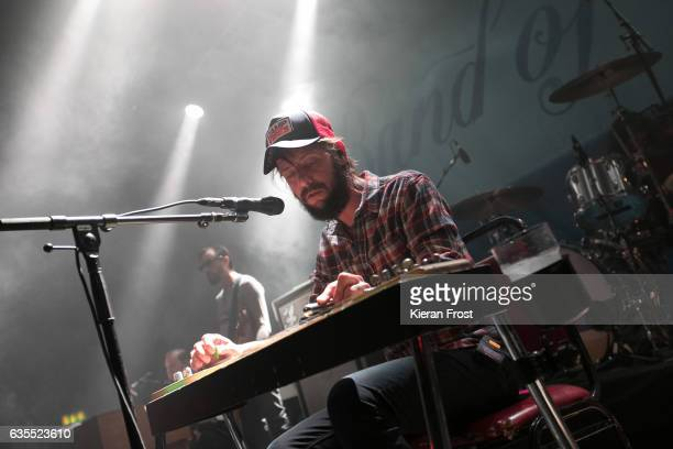 Ben Bridwell of Band Of Horses performs at Vicar Street on February 15, 2017 in Dublin, Ireland.
