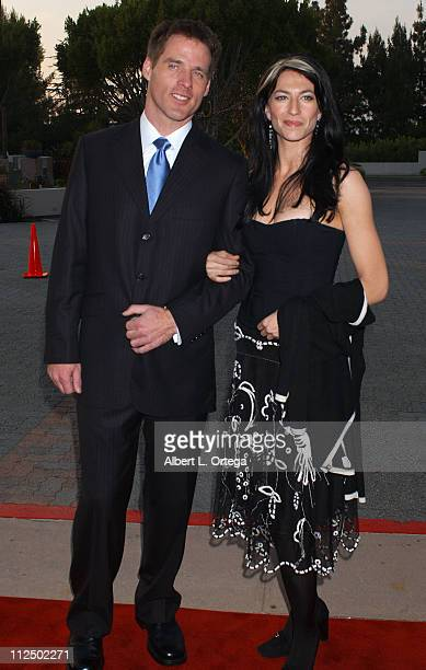 Ben Browder and Claudia Black during 31st Annual Saturn Awards - Arrivals at Universal Hilton Hotel in Universal City, California, United States.
