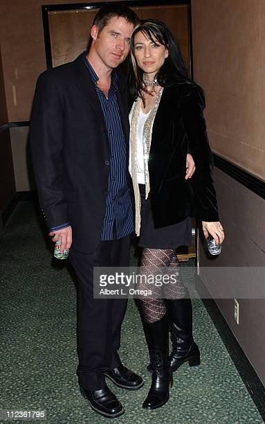 """Ben Browder and Claudia Black during Creation Entertainment 5th Annual """"Farscape"""" Convention - Day Three at Burbank Airport Hilton Hotel in Burbank,..."""