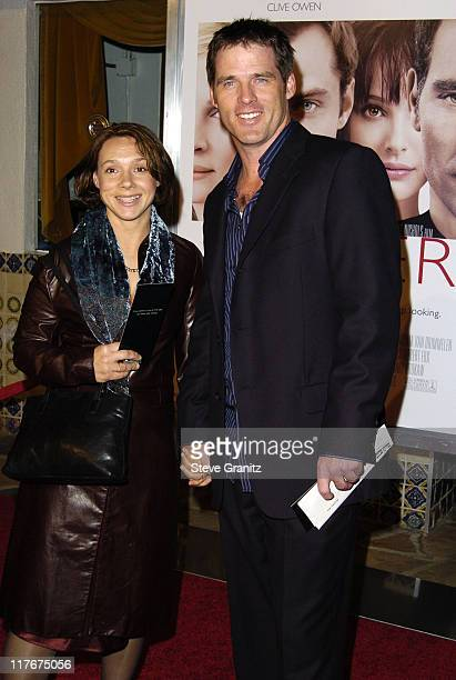 """Ben Browder and wife Francesca Buller during """"Closer"""" Los Angeles Premiere - Arrivals at Mann Village Theatre in Westwood, California, United States."""