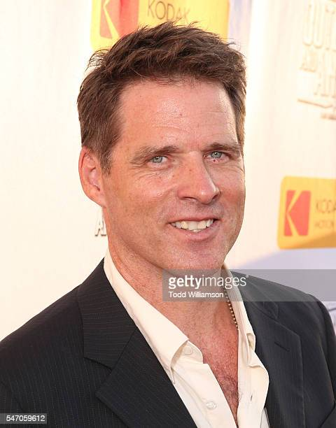 """Ben Browder attends the premiere Of Momentum Pictures' """"Outlaws And Angels"""" at Ahrya Fine Arts Movie Theater on July 12, 2016 in Beverly Hills,..."""