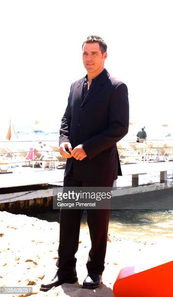"""Ben Browder during 2004 Cannes Film Festival - """"A Killer Within"""" - Photocall at Carlton Beach in Cannes, France."""