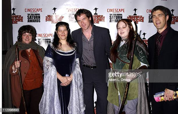 Ben Browder during The 29th Annual Saturn Awards By The Academy Of Science Fiction, Fantasy And Horror - Arrivals at Renaissance Hotel in Hollywood,...