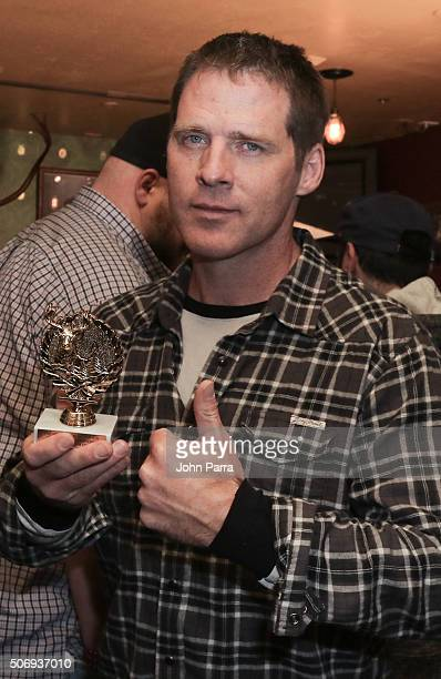 Ben Browder from the film 'Outlaws and Angels' posed for a portrait during The Hollywood Reporter 2016 Sundance Studio At Rock & Reilly's - Day 4 -...