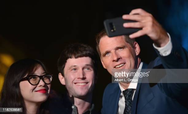 Ben Browder takes selfies with fans at Farscape - The Uncharted Territories: A 20th Anniversary Celebration held at Jim Henson Studios on October 19,...