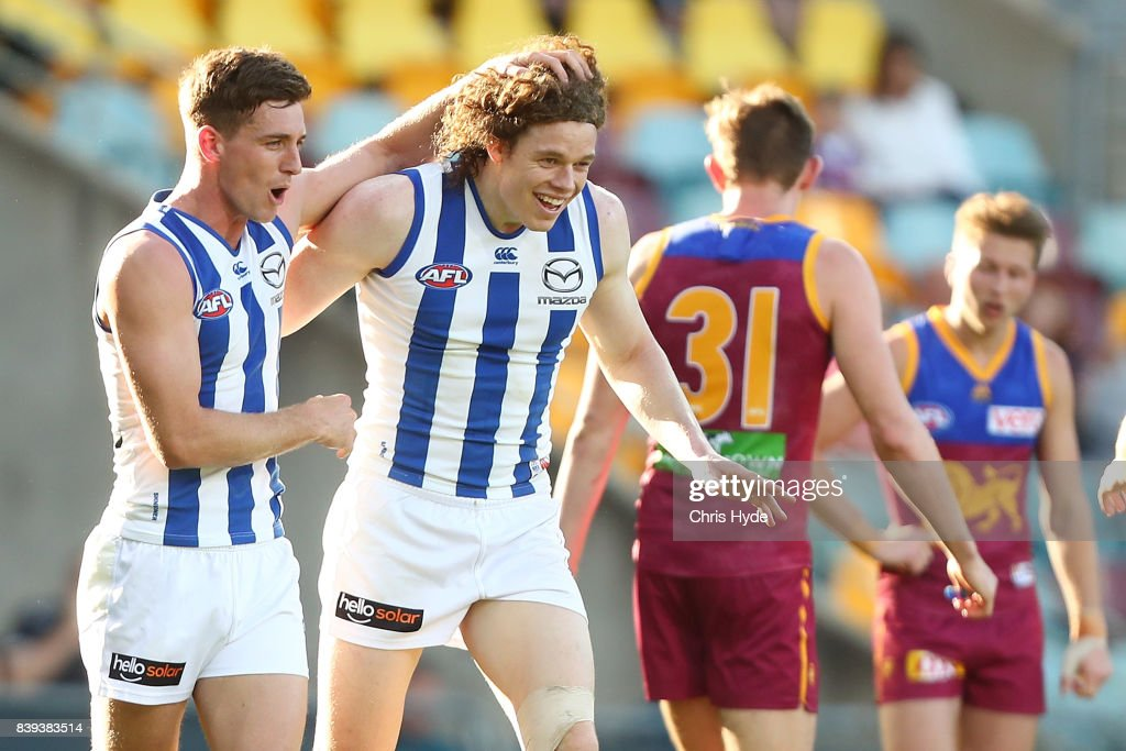 AFL Rd 23 - Brisbane v North Melbourne
