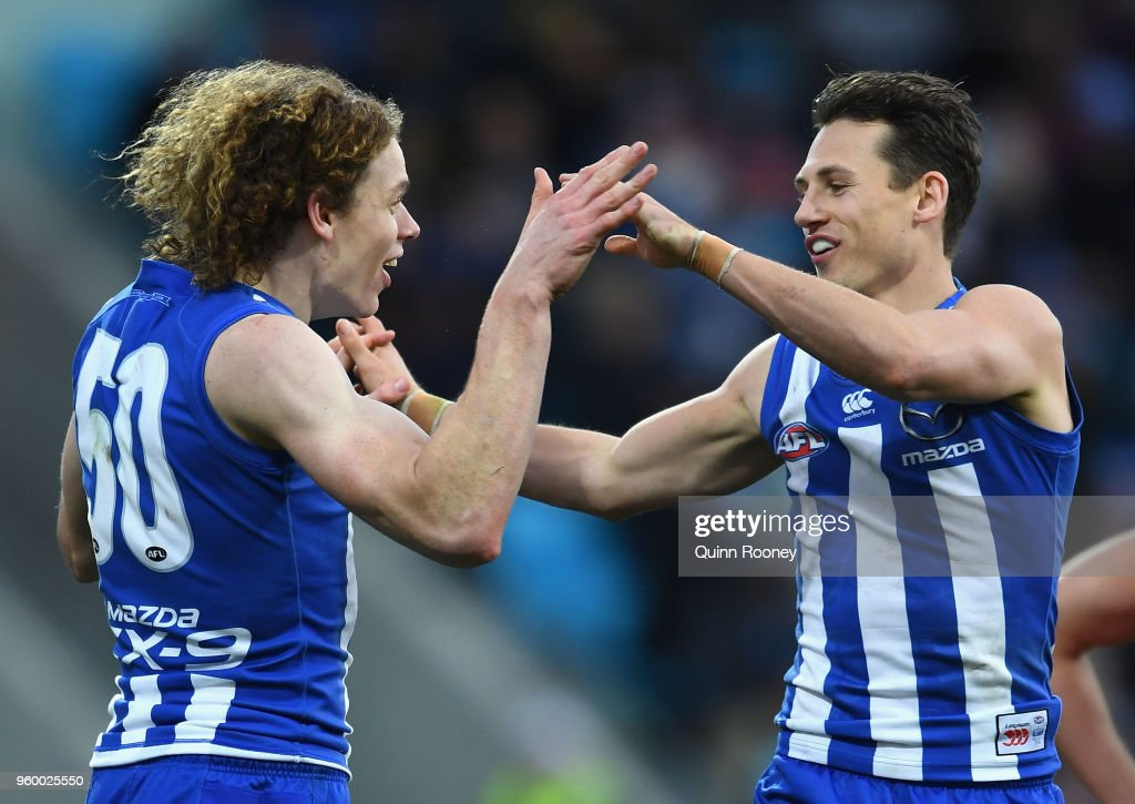 AFL Rd 9 - North Melbourne v GWS : News Photo