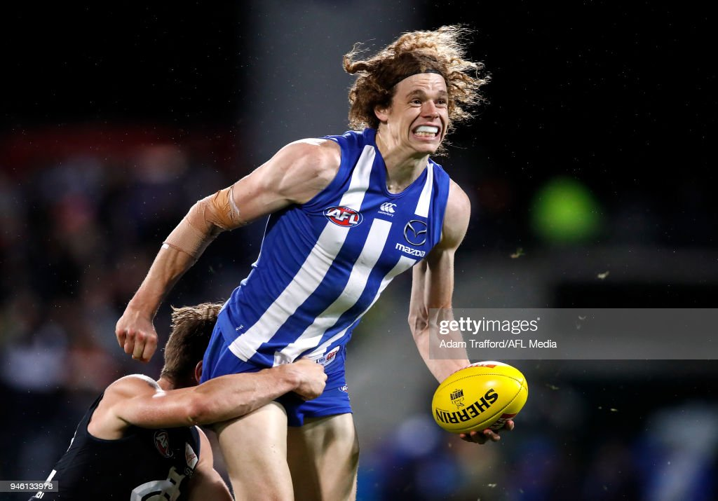 AFL Rd 4 - North Melbourne v Carlton : News Photo