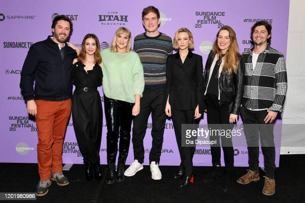 Ben Browning Alison Brie Emerald Fennell Bo Burnham Carey Mulligan and Tom Ackerley attend the 2020 Sundance Film Festival Promising Young Woman...