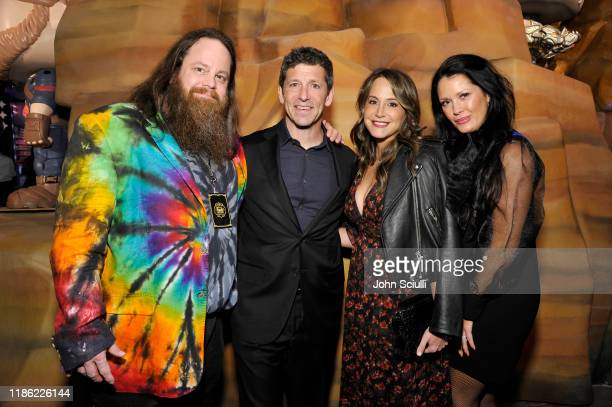 Ben Butcher Melisah Burke and guests attend the Funko Hollywood VIP Preview Event at Funko Hollywood on November 07 2019 in Hollywood California