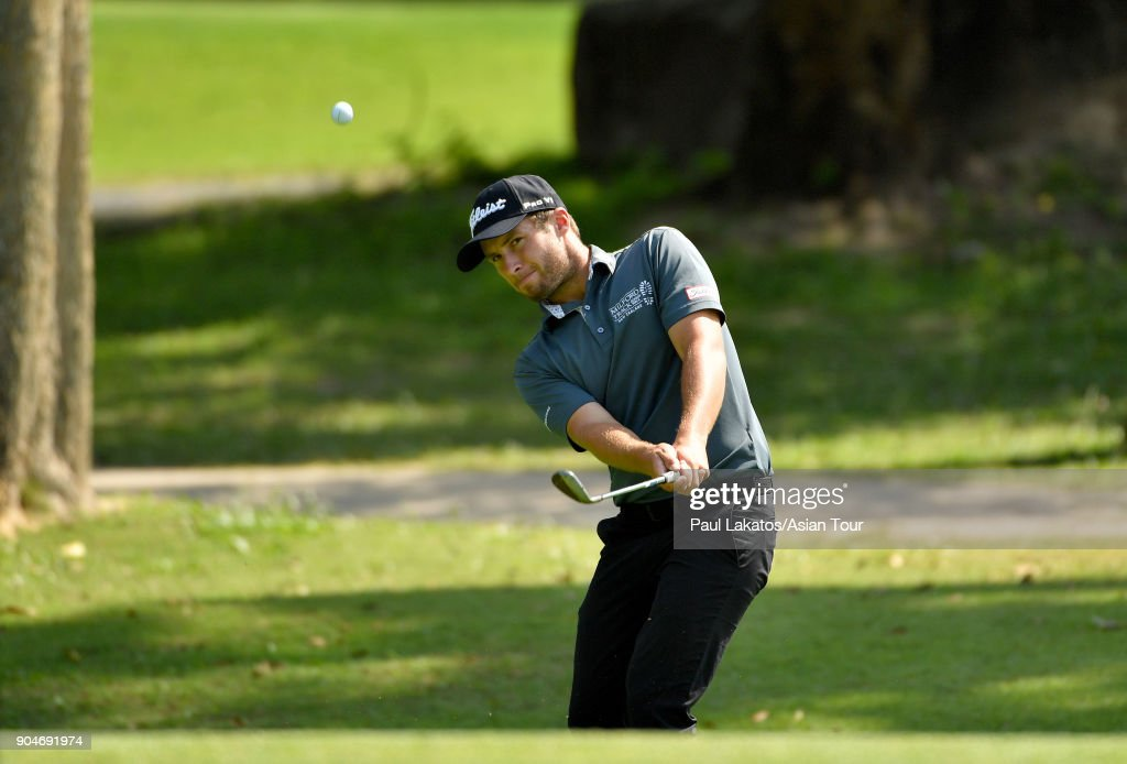 Ben Campbell of New Zealand during round five of the 2018 Asian Tour Qualifying School Final Stage at Rayong Green Valley Country Club on January 14, 2018 in Rayong, Thailand.
