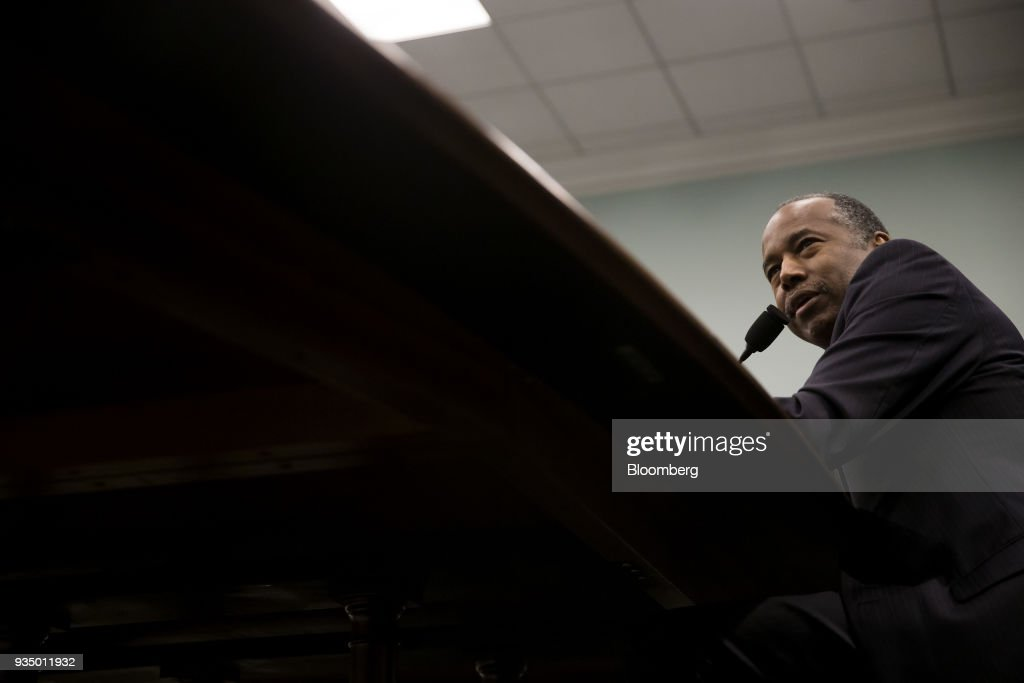 HUD Secretary Ben Carson Testifies To House Appropriations Subcommittee On Budget