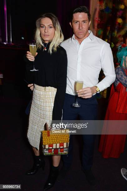 Ben Charles Edwards attends The Perfumer's Story evening of Scentsory delights hosted by Aures London Azzi Glasser at Sensorium on March 21 2018 in...