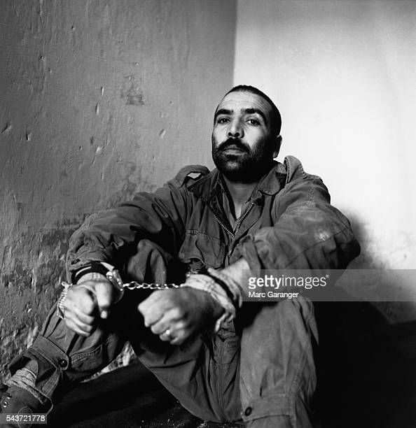Ben Cherif commander of the Front de Liberation Nationale forces in Algeria in French custody