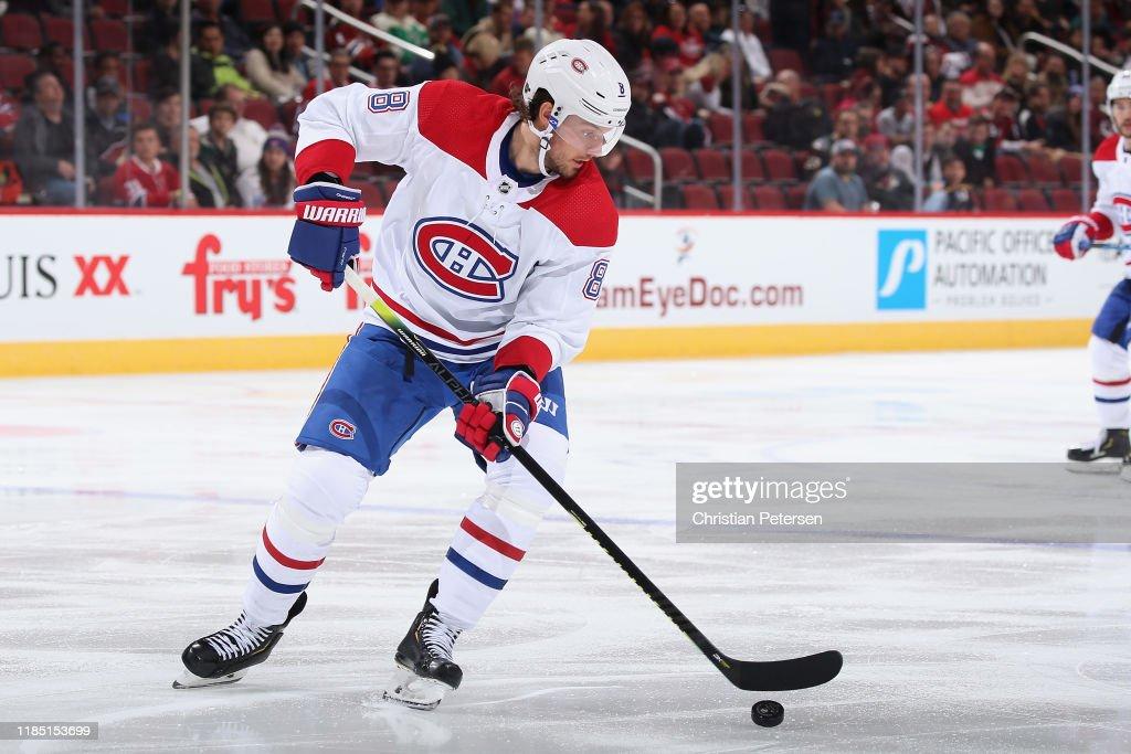 Montreal Canadiens v Arizona Coyotes : News Photo