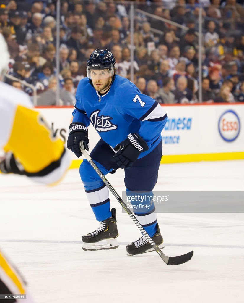 Pittsburgh Penguins v Winnipeg Jets : News Photo