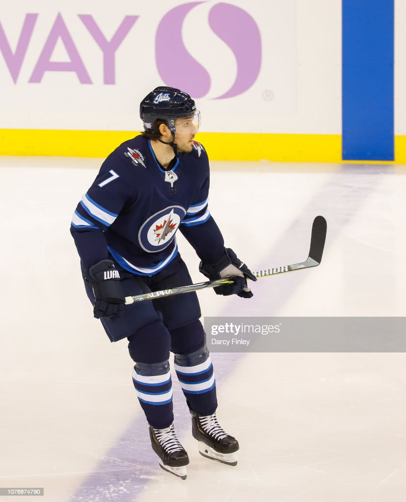 Chicago Blackhawks v Winnipeg Jets : News Photo