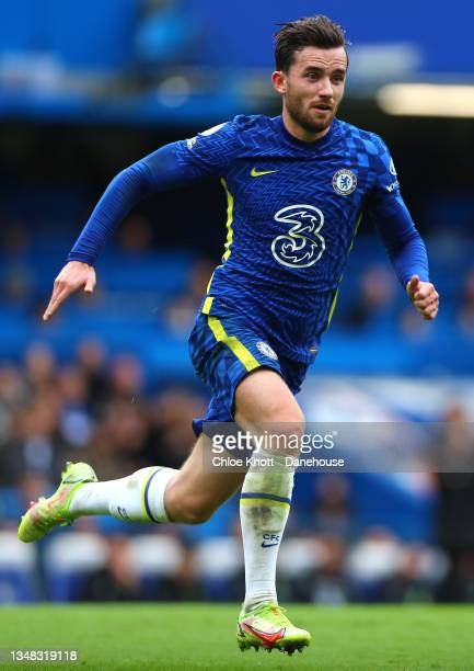 Ben Chigwell of Chelsea FC during the Premier League match between Chelsea and Norwich City at Stamford Bridge on October 23, 2021 in London, England.