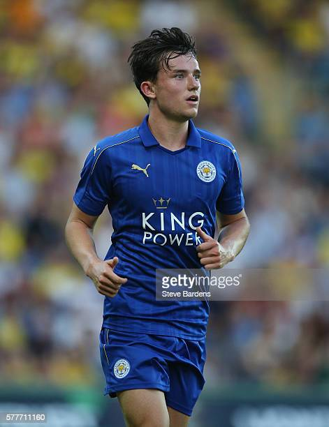 Ben Chillwell of Leicester City during a preseason friendly between Oxford United and Leicester City at Kassam Stadium on July 19 2016 in Oxford...