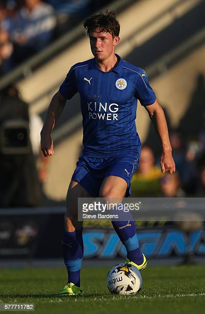 Ben Chillwell of Leicester City in action during a preseason friendly between Oxford United and Leicester City at Kassam Stadium on July 19 2016 in...
