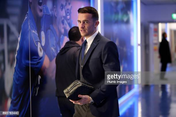 Ben Chilwell ahead of the Premier League match between Leicester City and Crystal Palace at King Power Stadium on December 16th 2017 in Leicester...