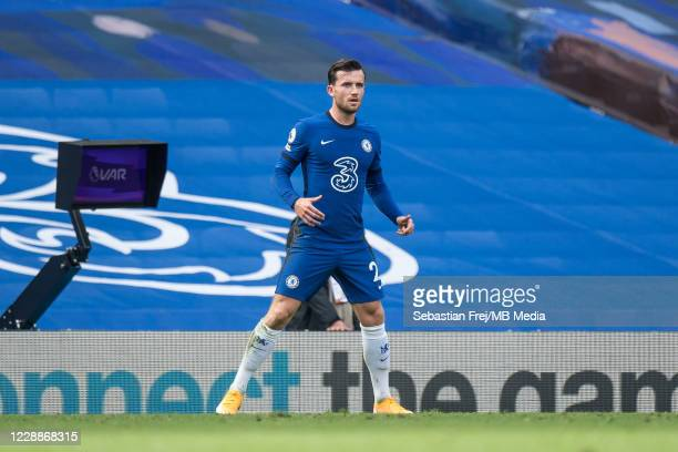 Ben Chilwell of Chelsea during the Premier League match between Chelsea and Crystal Palace at Stamford Bridge on October 3 2020 in London United...