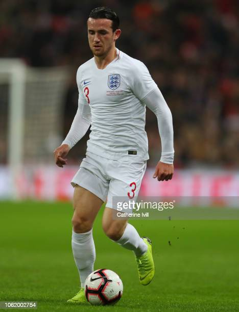 Ben Chilwell of England during the International Friendly match between England and United States at Wembley Stadium on November 15 2018 in London...