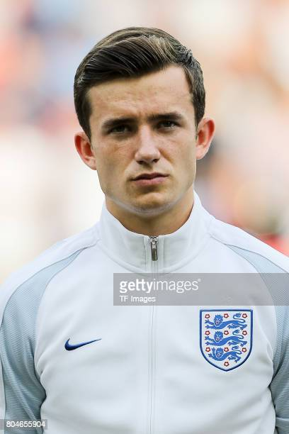 Ben Chilwell of England looks on during the UEFA European Under21 Championship Semi Final match between England and Germany at Tychy Stadium on June...