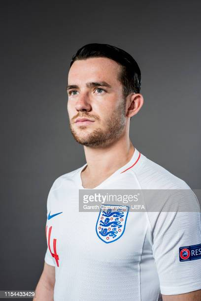 Ben Chilwell of England poses for a portrait at St Georges Park on June 04, 2019 in Burton-upon-Trent, England.