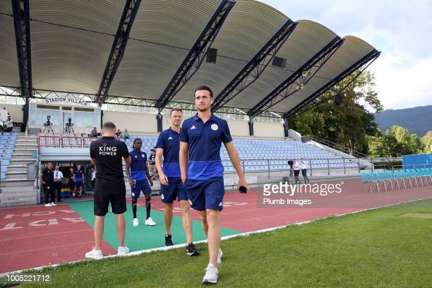 Ben Chilwell of Leicester City ahead of the preseason friendly match between Leicester City and Akhisarspor at Stadion Villach on July 25th 2018 in...