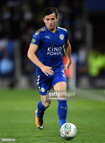 Ben Chilwell of Leicester City during the Caraboa Cup Fourth Round match between Leicester City and Leeds United at The King Power Stadium on October...