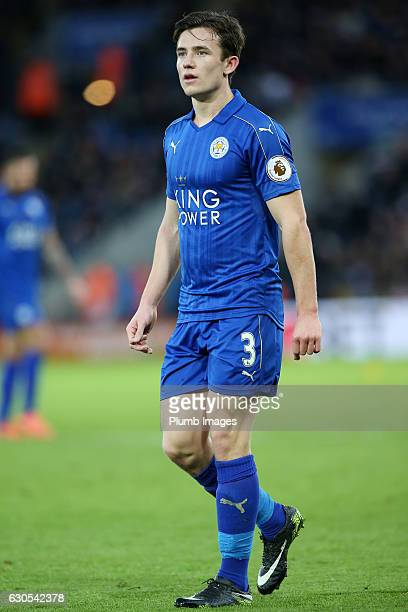 Ben Chilwell of Leicester City during the Premier League match between Leicester City and Everton at King Power Stadium on December 26 2016 in...