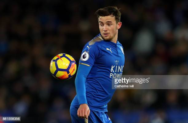 Ben Chilwell of Leicester City during the Premier League match between Leicester City and Tottenham Hotspur at The King Power Stadium on November 28...