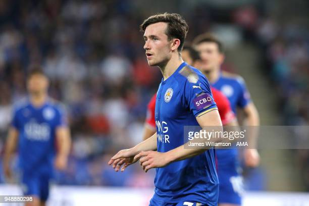 Ben Chilwell of Leicester City during the Premier League match between Leicester City and Southampton at The King Power Stadium on April 19 2018 in...