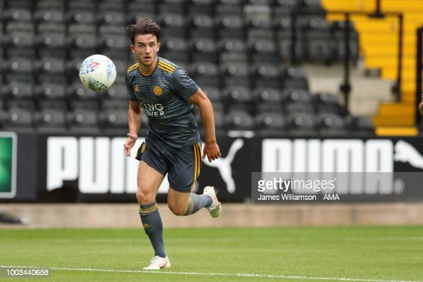 Ben Chilwell of Leicester City during the preseason match between Notts County and Leicester City at Meadow Lane on July 21 2018 in Nottingham England