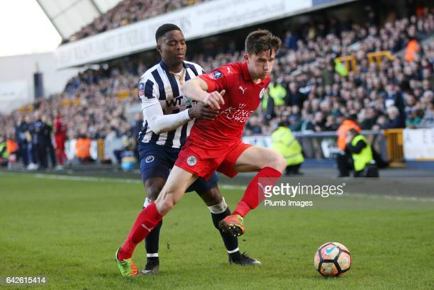 Ben Chilwell of Leicester City in action during The Emirates FA Cup Fifth Round tie between Millwall and Leicester City at The Den on February 18...