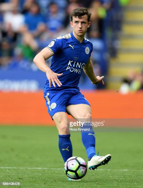 Ben Chilwell of Leicester City in action during the Premier League match between Leicester City and AFC Bournemouth at The King Power Stadium on May...