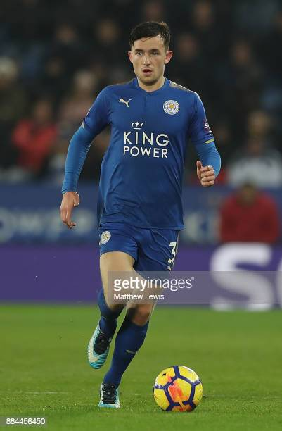 Ben Chilwell of Leicester City in action during the Premier League match between Leicester City and Burnley at The King Power Stadium on December 2...