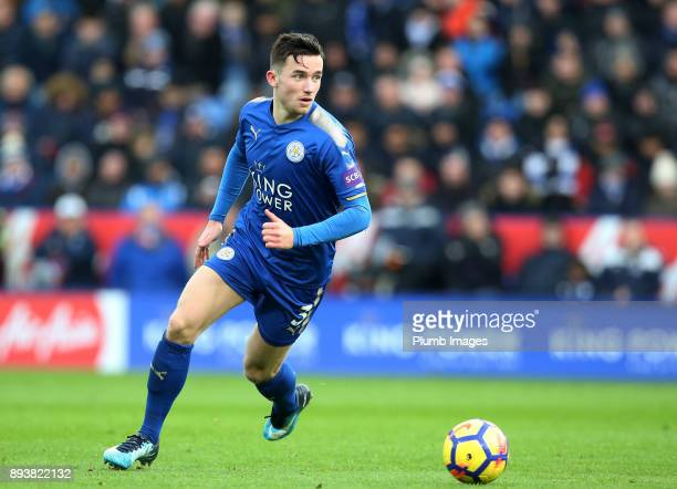 Ben Chilwell of Leicester City in action during the Premier League match between Leicester City and Crystal Palace at King Power Stadium on December...